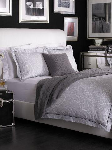 Grey Brentwood Paisley   Ralph Lauren Home Bed Collections   RalphLauren.com