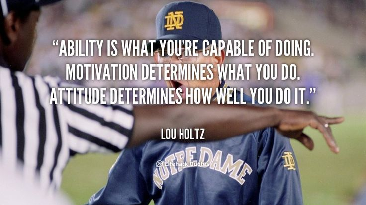 Notre Dame Football Google Search Sports Quotes Lou Holtz