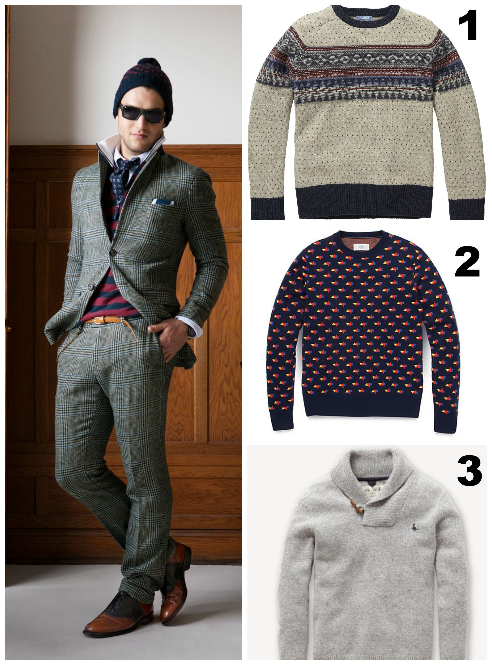 men fall sweaters | Men's Fashion | Pinterest
