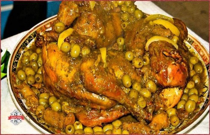 plat poulet marocain