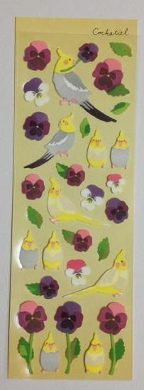 Cockatiel / Parakeet stickers by SweetSuppliesStore on Etsy, $3.00