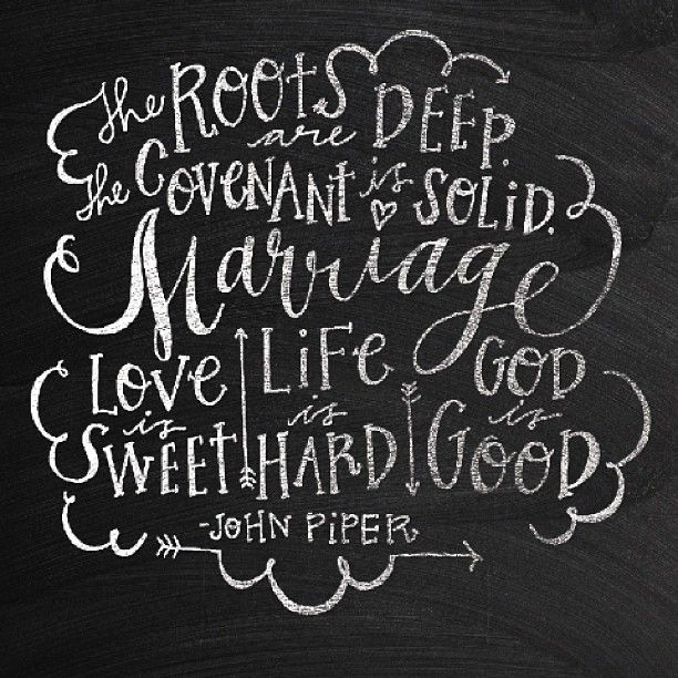 Quotes About 20 Years Of Marriage: Marriage Quote Hand Lettering By Jasmine Nora Jones