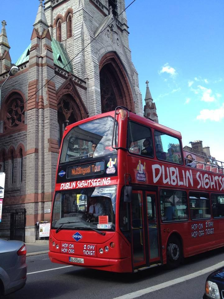 From Dublin to London mode of transpo