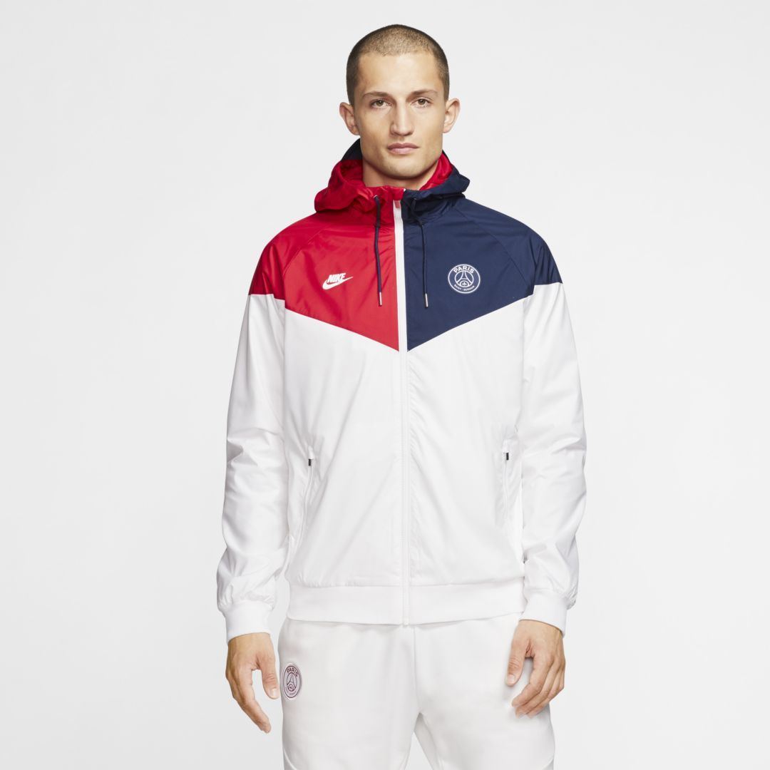 Photo of Paris Saint-Germain Windrunner Herren Woven Jacke. Nike.com