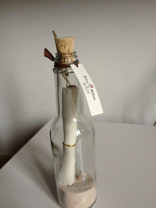 Invitacion En Mensaje En Una Botella Casamiento Pinterest - Invitaciones-de-boda-en-botella