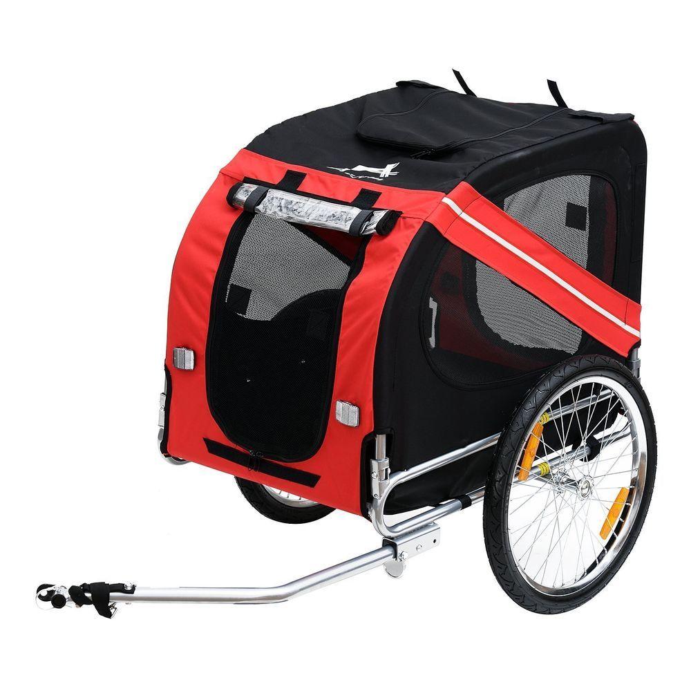Pet Carrier Dog Bike Bicycle Trailer Stroller Jogging