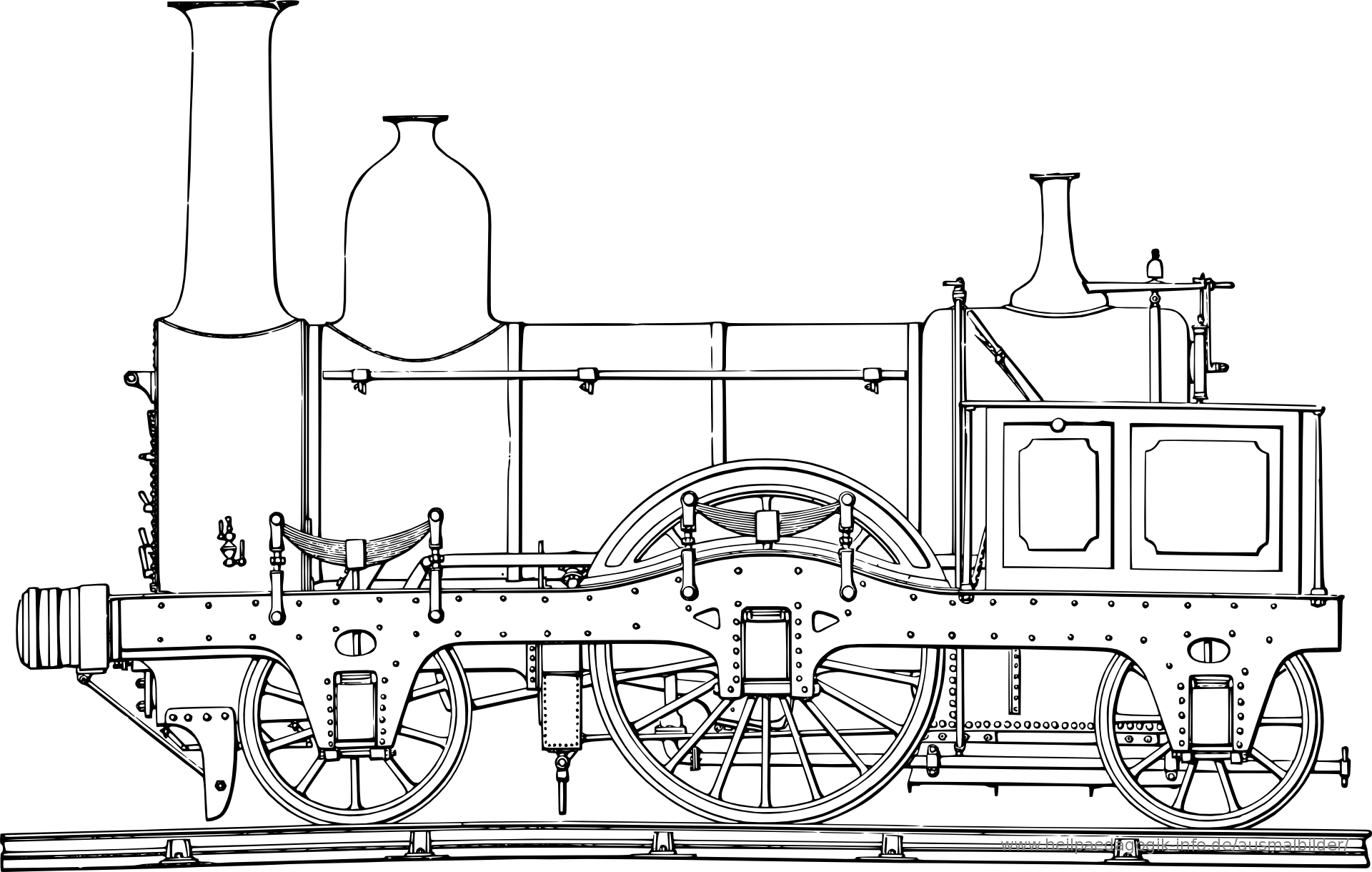 Ausmalbilder Eisenbahn | Ausmalen, Eisenbahn, Bilder