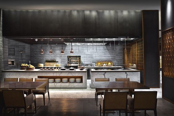 Piniaui Rungsit On Restaurant  Pinterest  Hotel Buffet Captivating Chinese Restaurant Kitchen Design Decorating Inspiration