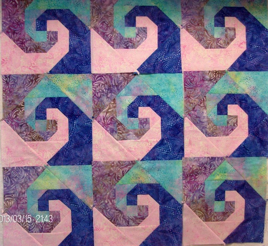 Snail Trail Quilt Pattern If You Like This Quilt Block You Might Enjoy Chain And Hourglass Quilt Block Patterns Free Cat Quilt Patterns Ocean Quilt