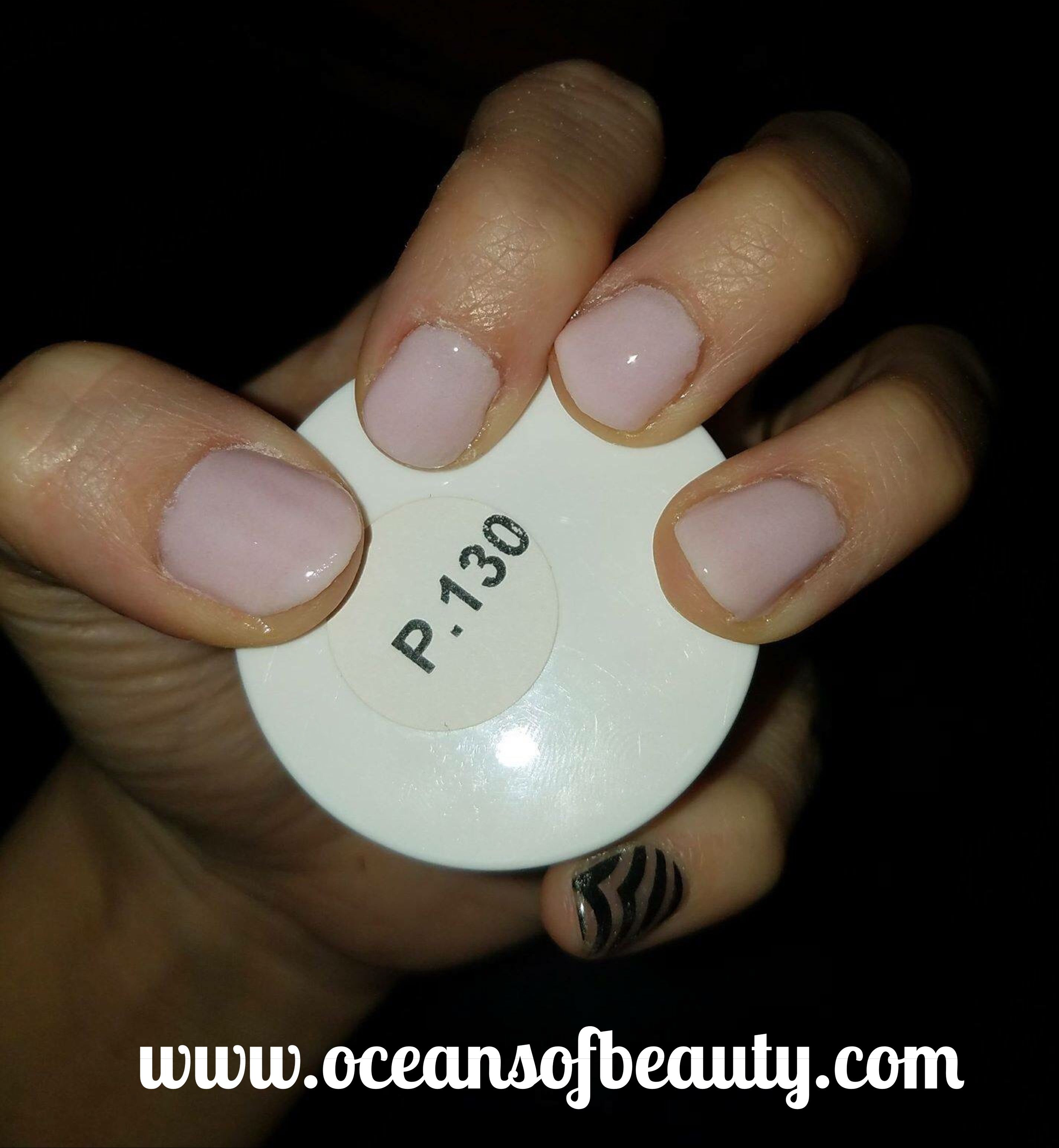 P.130 EZdip Gel Powder. DIY EZ Dip. No lamps needed, lasts 2-3 weeks ...