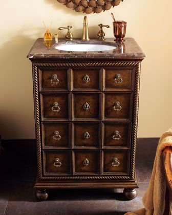 """""""Karmene"""" Petite Chest with Sink by Ambella at Horchow. # ..."""