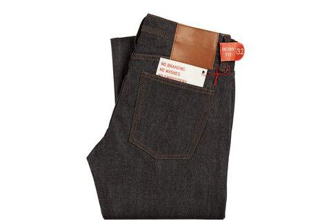 The Unbranded Brand Mens Skinny Indigo Selvedge Jean in UB101