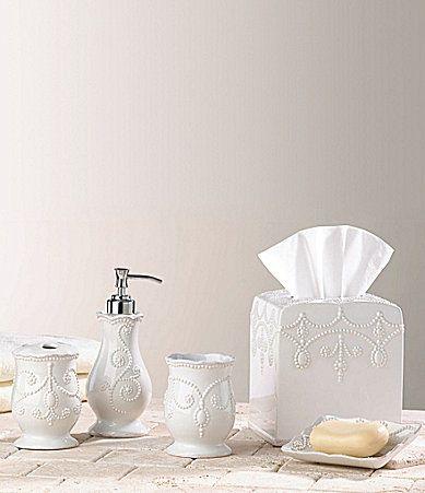 Lenox french perle bath accessories dillards bathroom - Dillards bathroom accessories sets ...
