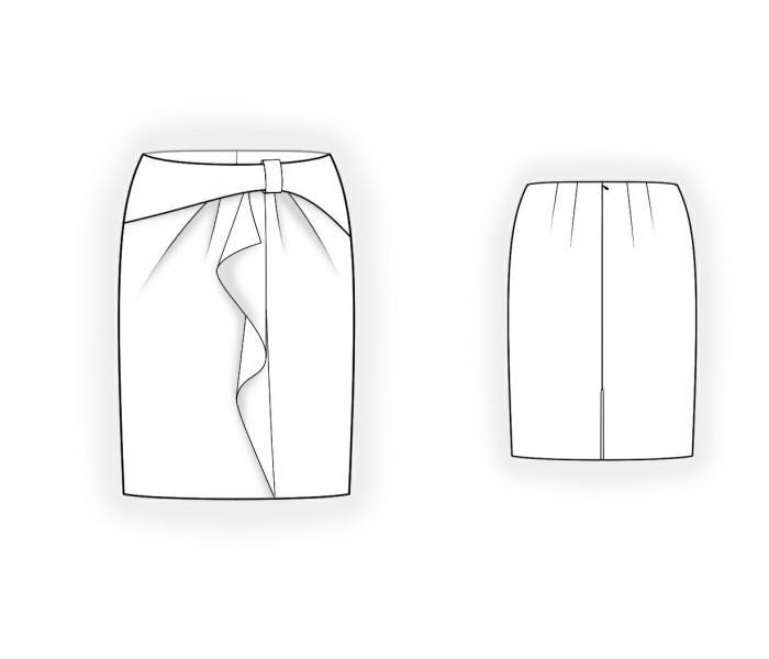 модели юбок рисунок узнать, как
