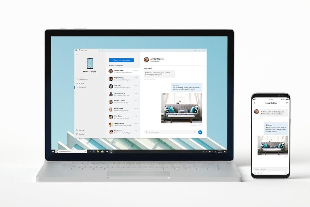 آموزش نصب برنامه Your Phone مایکروسافت We can't connect to