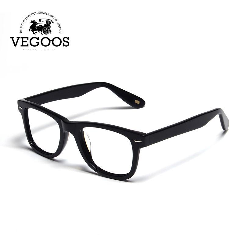 3259b5748c7 VEGOOS new handmade woody acetate eye glasses frame frames for men fashion  brand designer eyeglasses women optical Eyewear 6106B  Affiliate