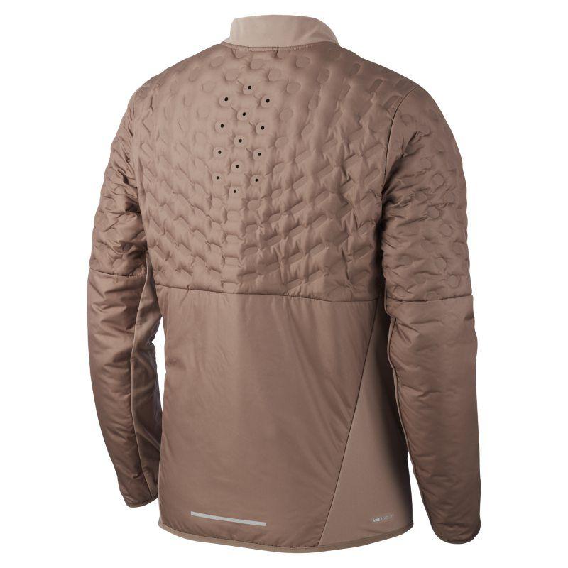 3df33f9372c0 Nike AeroLoft Men s Running Jacket - Brown