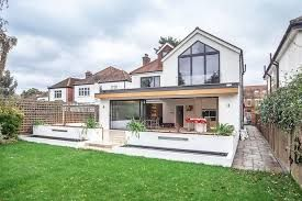 Image Result For 2 Storey Wrap Around Extension House Extension Plans House Extension Design Bungalow Extensions