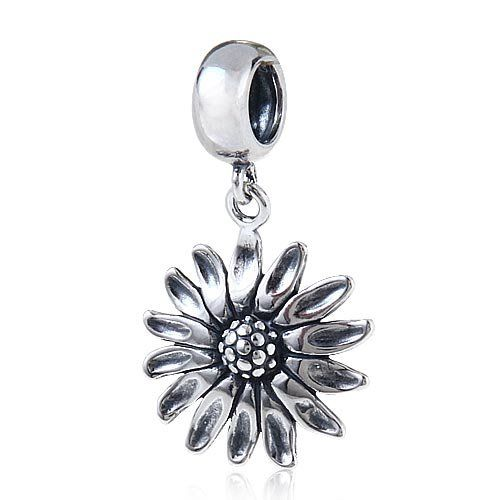 Hoobeads 925 Sterling Silver Dangle Sunflower Charm Beads European Bracelets Compatible ... Sterling Silver Pendant http://smile.amazon.com/dp/B00Z2FGVDS/ref=cm_sw_r_pi_dp_NMFbwb0G1QCYQ