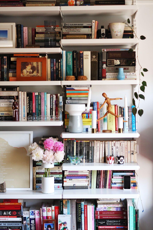 How Real People Do Bookshelf Styling Jest Cafe Shelf Decor Bedroom Home House Interior