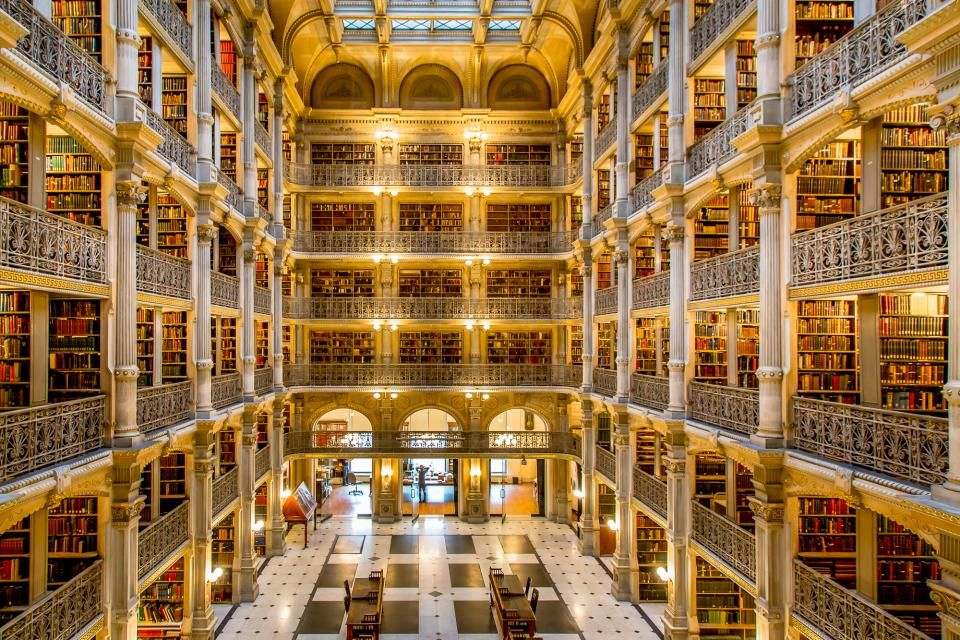 10 Fun Facts about Johns Hopkins University    wwwadmitsee - library page
