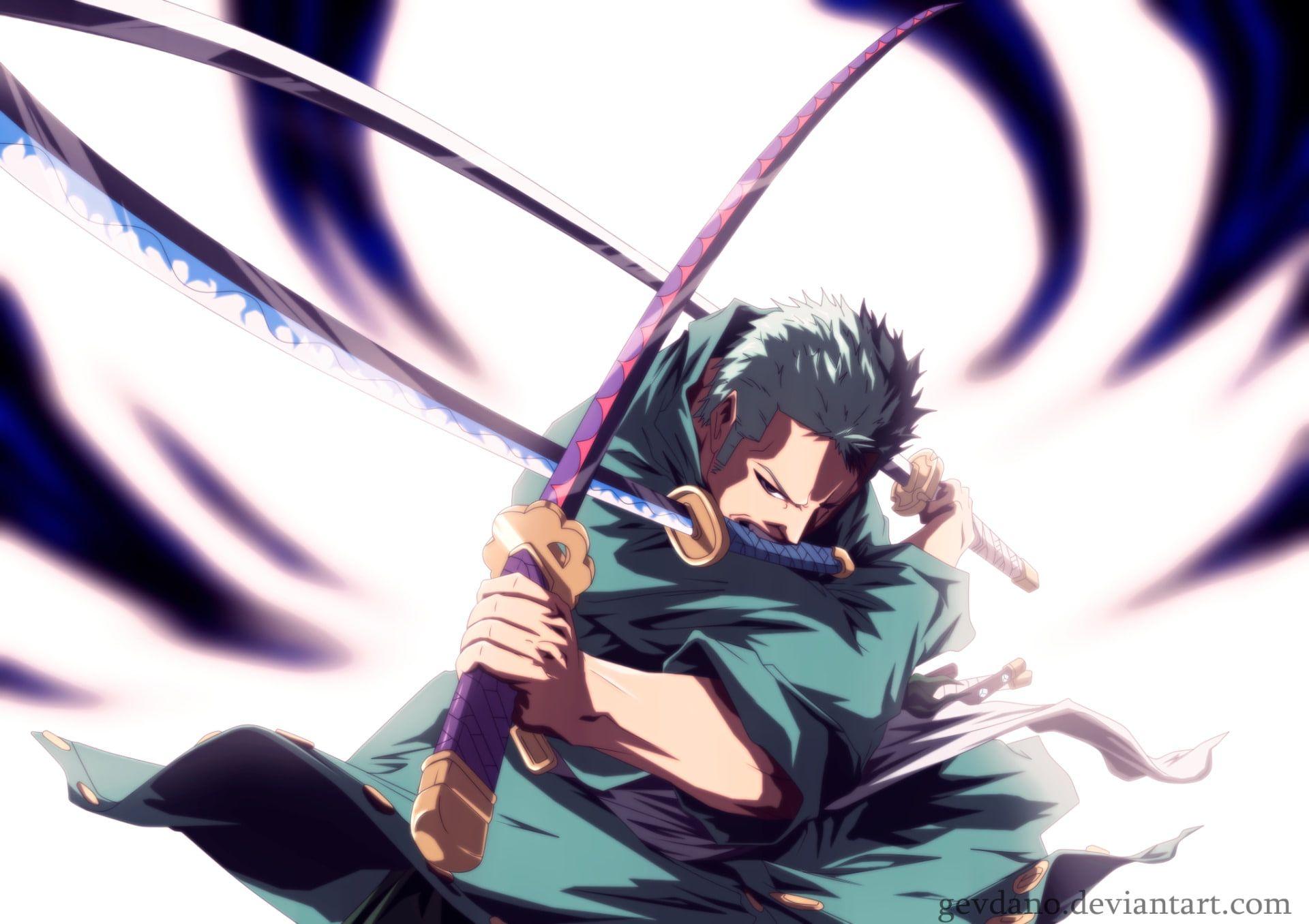 Anime One Piece Zoro Roronoa 1080p Wallpaper Hdwallpaper Desktop Anime Cowboy Bebop Anime Anime One