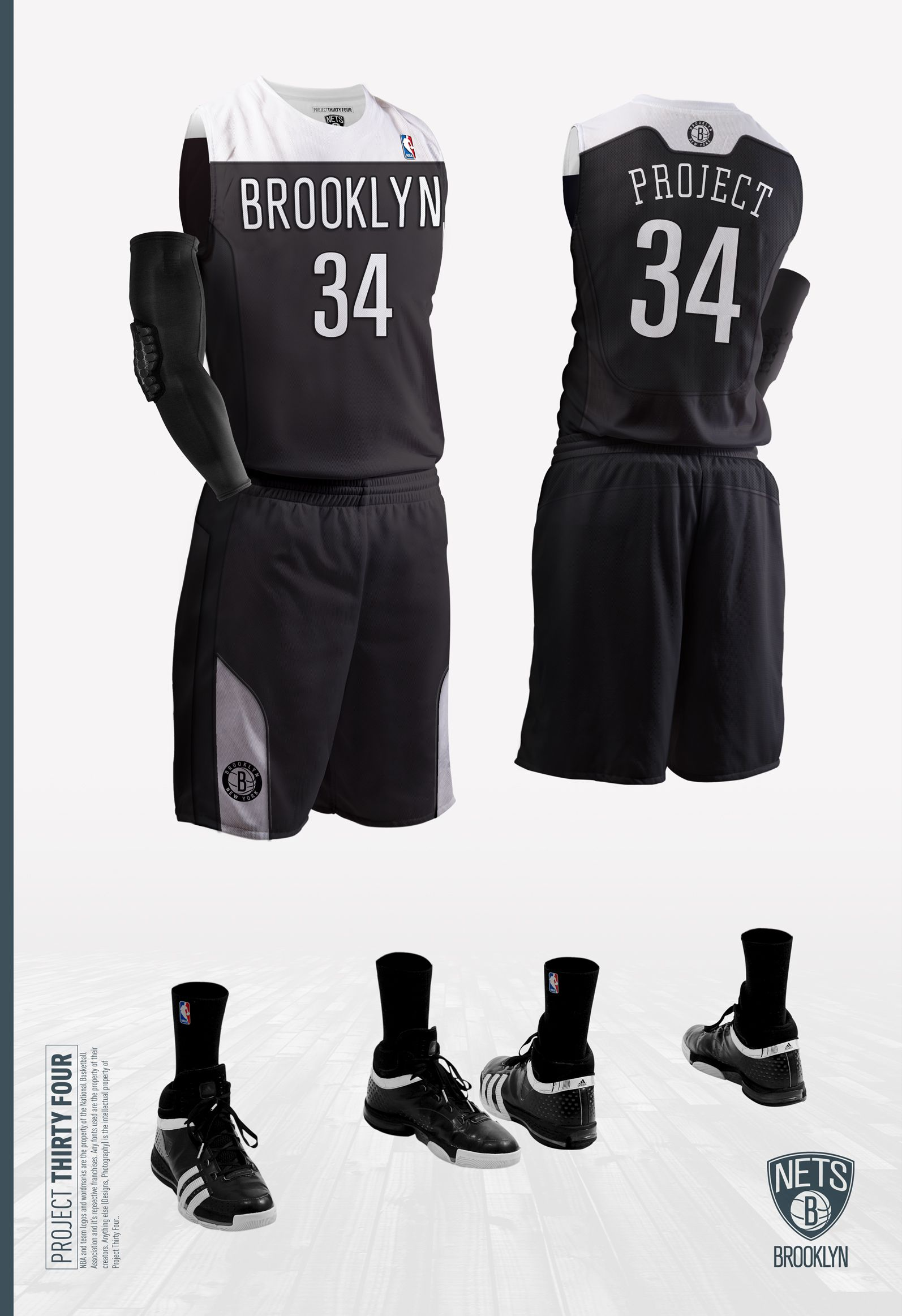 Fanmade concept design for the Brooklyn Nets  jerseys. The real jerseys  will be unveiled later this month (Sept12). ea4d498d0