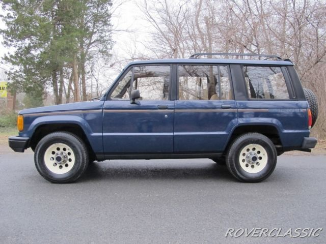 1986 isuzu trooper ii turbo diesel 4x4 for sale - isuzu trooper 1986
