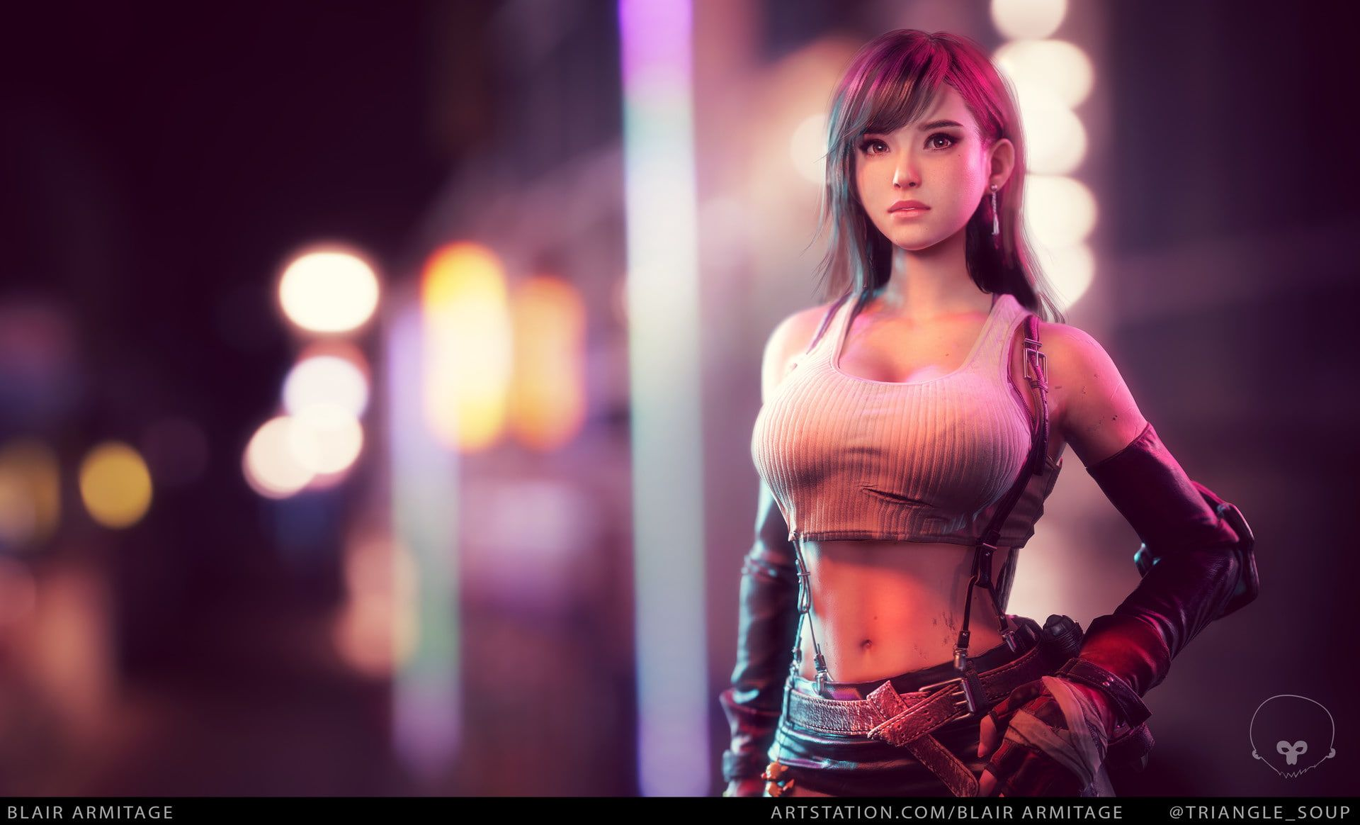 Tifa Lockhart The Remake Her Red Eyes Go Right Through Your Soul