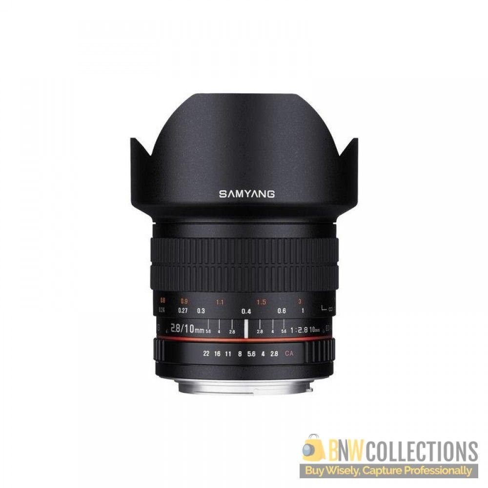 Samyang 10mm F2 8 Ed As Ncs Cs Lens Price In Pakistan Dslr Lenses Lens Flare Wide Angle Lens