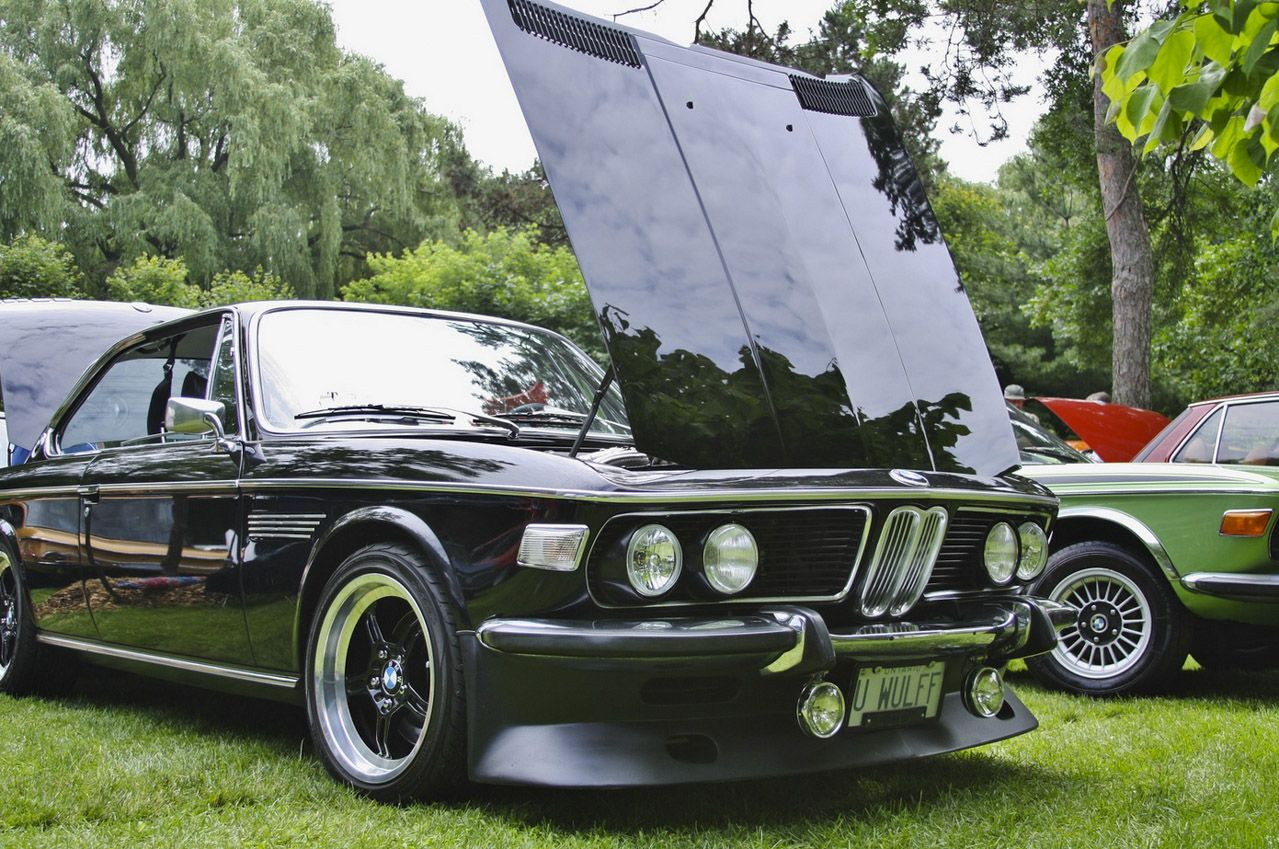 BMW Convertible bmw retro car Tedfest 2013 gathers stunning BMW classic cars from Canada and US ...