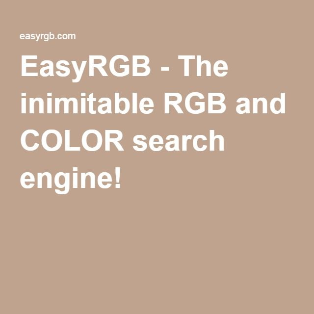 easyrgb the inimitable rgb and color search engine on benjamin moore paint code lookup id=82488