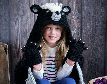 Woodland Fox Blanket Crochet Pattern - Hooded Woodland Fox Blanket Crochet PATTERN MJ's Off The Hook Design #crochetedkitemsthatsell