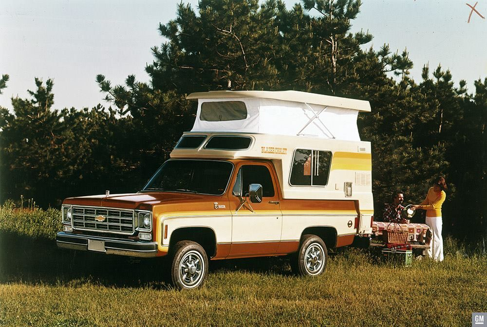Chevrolet S Blazer Chalet Pop Up Camper And Gmc S Similar Casa
