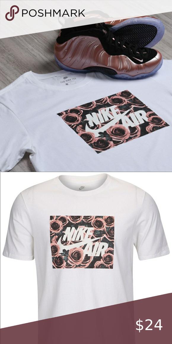 NWT Nike Air Futura Foam Rose T-Shirt