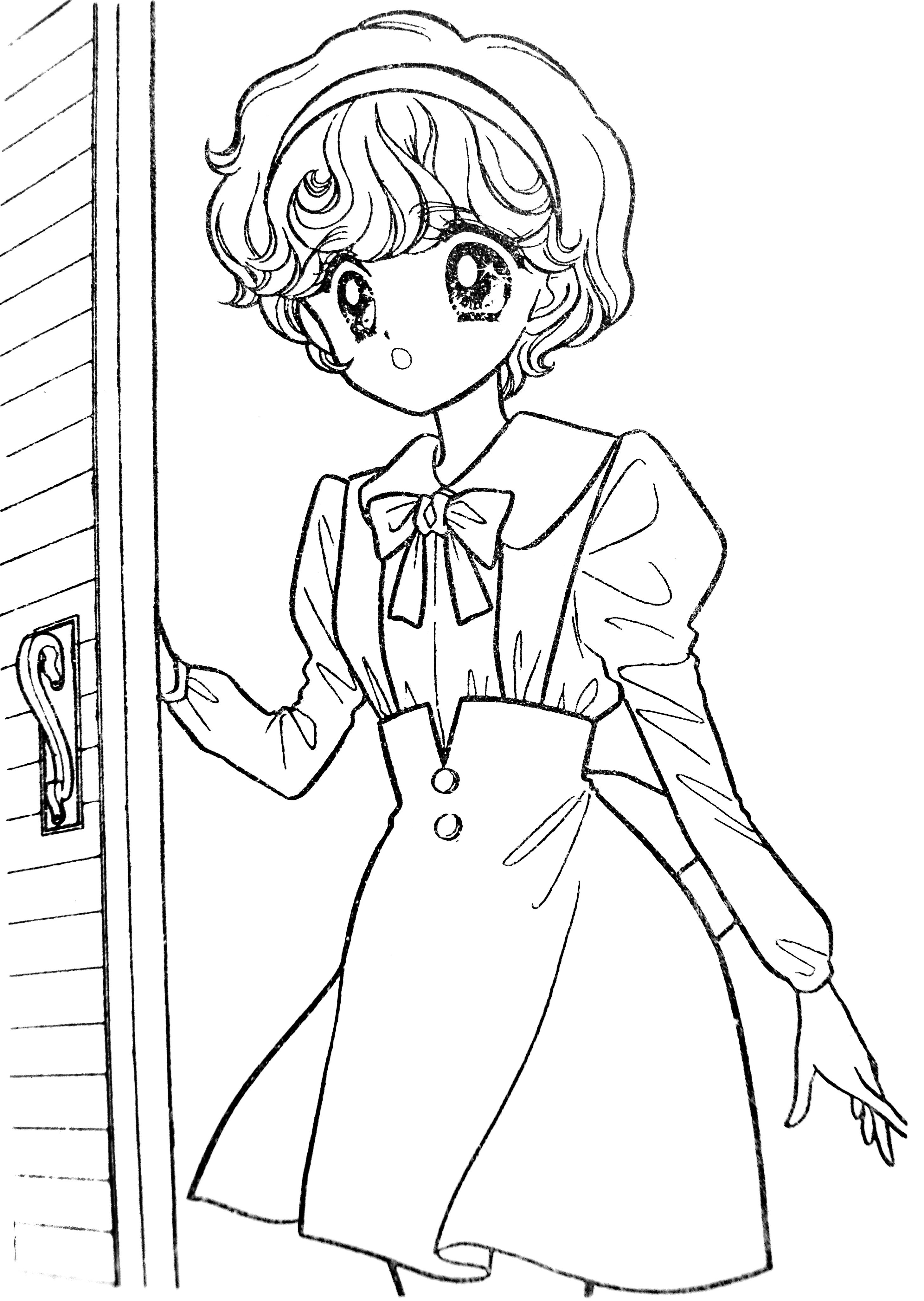 Pin By Liz On Relax With Shojo Manga Coloring Books Vintage Coloring Books Cute Coloring Pages [ 4104 x 2916 Pixel ]