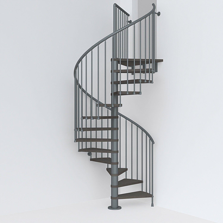 Escalier Colimacon Rond Revers Acier Gris Ant Ring 12 Mar Orme