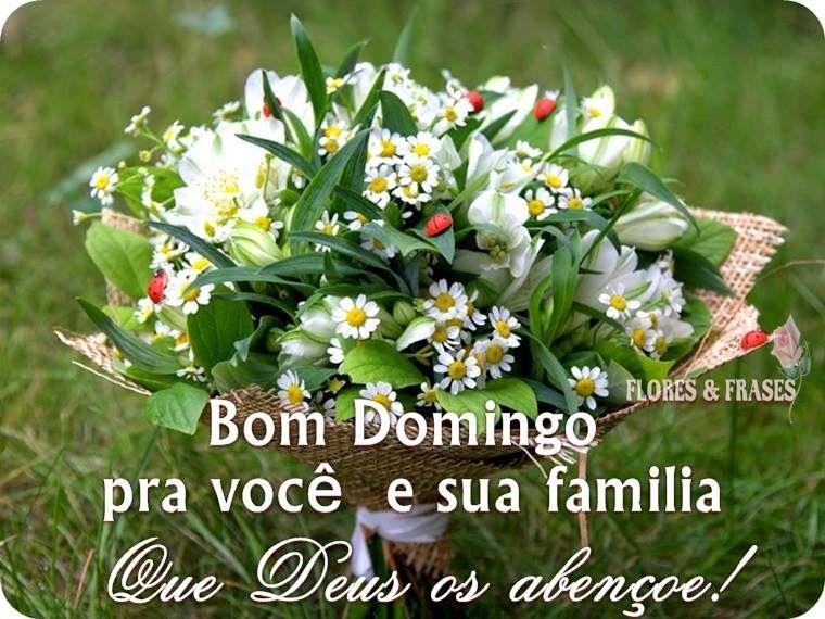 Domingo Abençoado Para Você E Toda Sua Família Bom Dia Boa Tarde