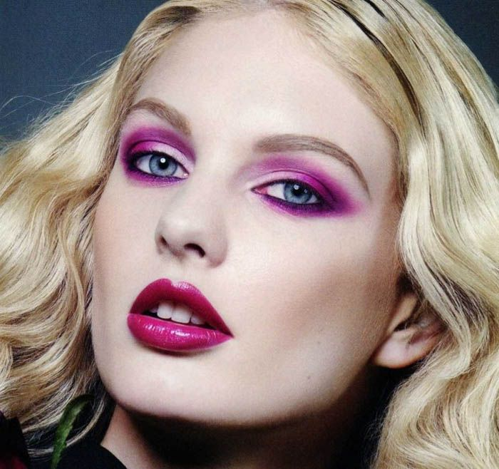 Makeup Ideas Cool Purple 80s Eye Makeup Crazy And Colorful 80s Eye