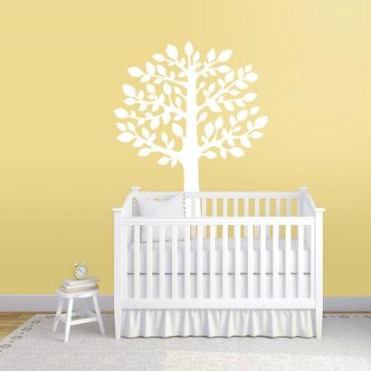 Wall Decal - White Tree - Wall Decor - Nursery - Play room - Kid\'s ...