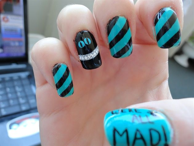 Cheshire Cat Nail Art Gallery By Nails Magazine