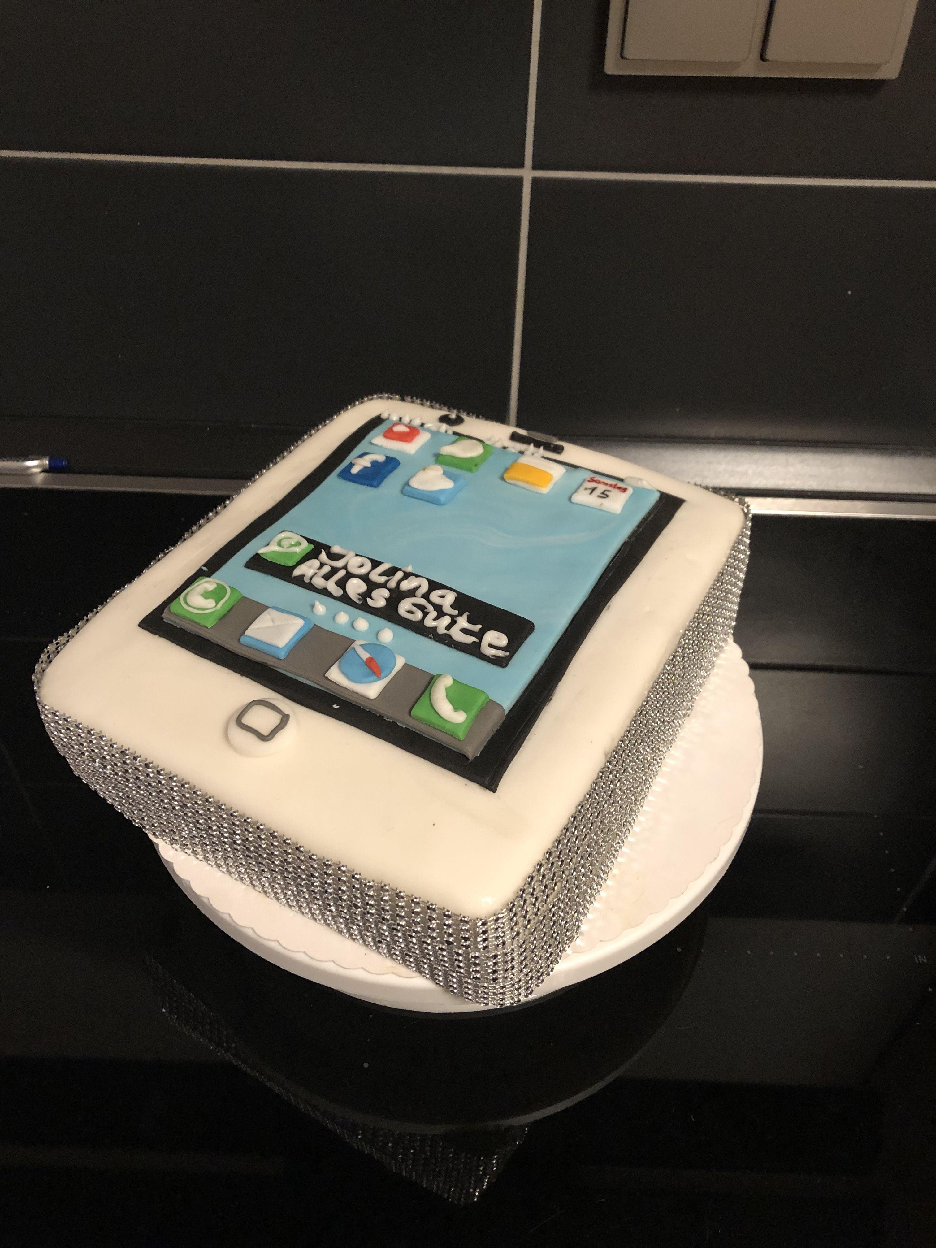Iphone Handy Torte In 2020 Torten
