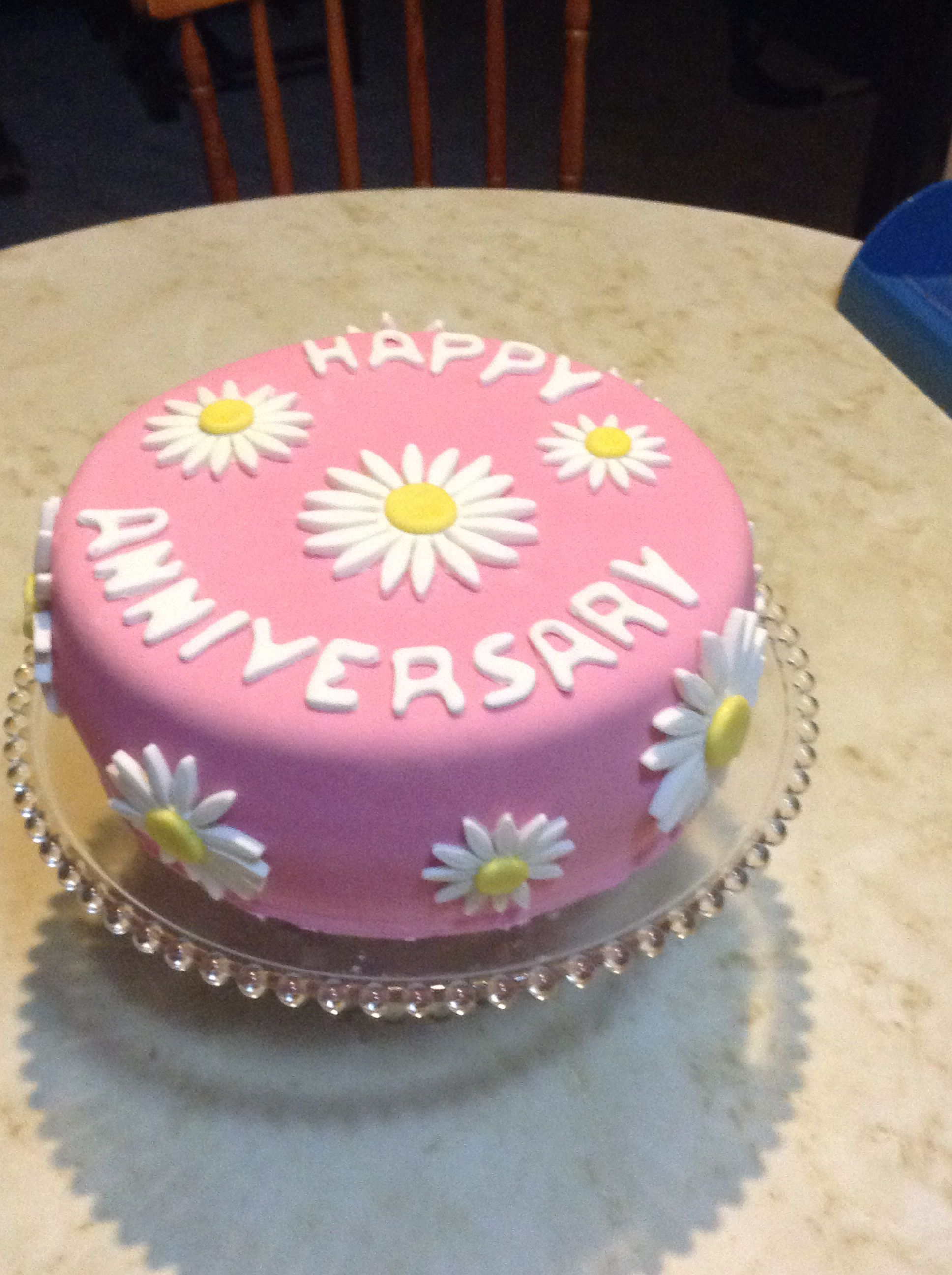 61st Wedding Anniversary Cake for my parents   My cakes   Pinterest ...