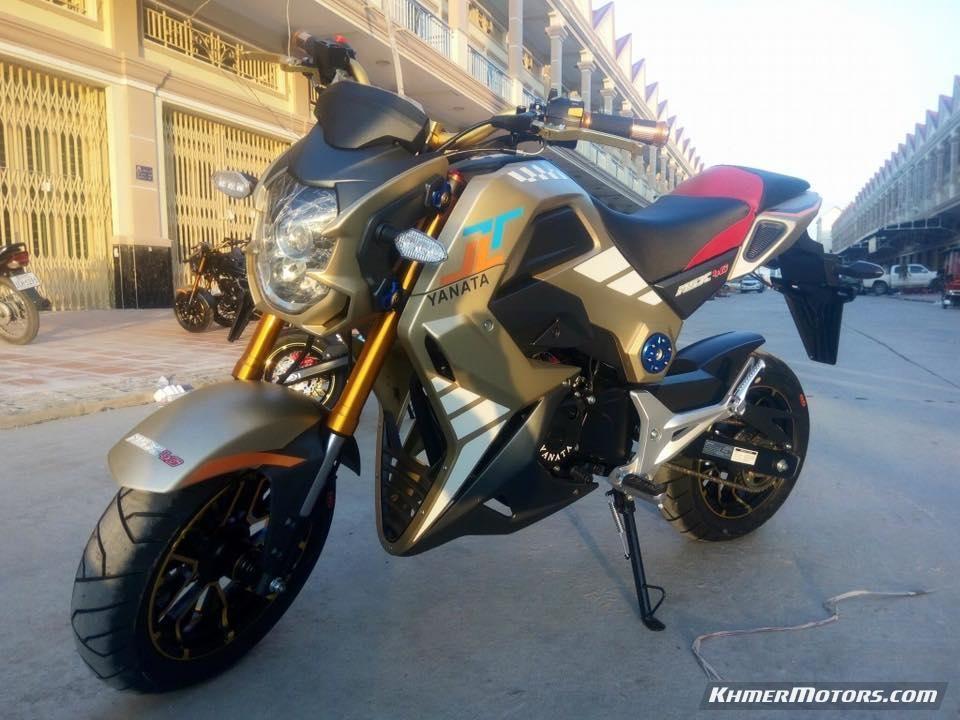 Yanata Msx 4g Dreamy 2017 Motorcycle Price Motorcycle