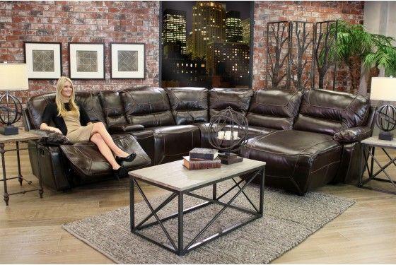 Mor Furniture for Less Sorento Living Room Sectional Living