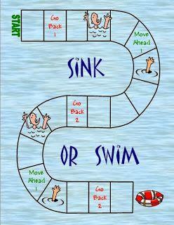 Sink Or Swim Social Skills Game Social Skills Games Social Skills For Kids Social Skills
