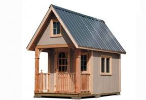 How To Build A Bunkie Cottage Life Tiny Cabin Plans Building A Shed Tiny House Plans Free