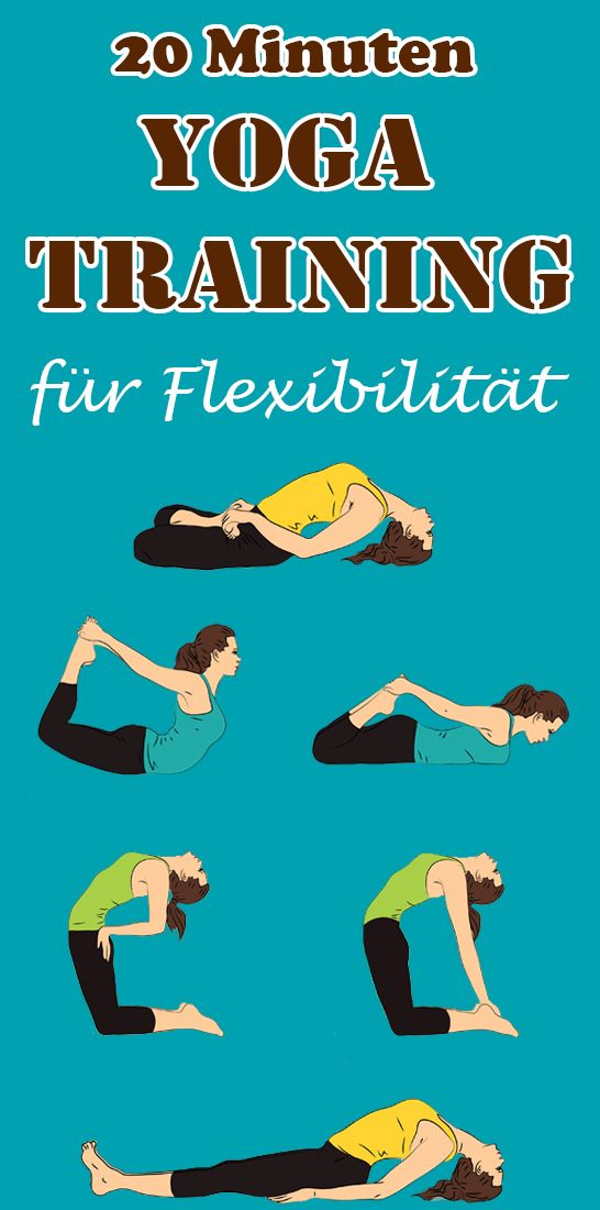 20 Minuten Anfänger Yoga Training für Flexibilität #stomachexercises