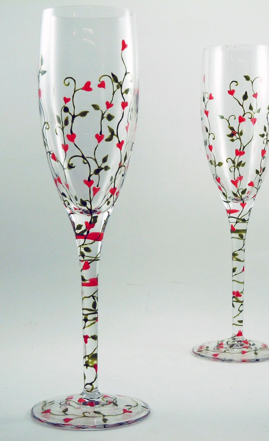 6a3b743e05b Hand Painted Glassware