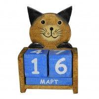 Статуэтка-календарь «Милый котэ»